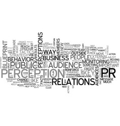 A great way to do pr text word cloud concept vector