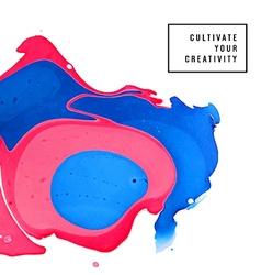 Artistic background design vector image