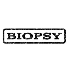 Biopsy watermark stamp vector