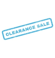 Clearance sale rubber stamp vector