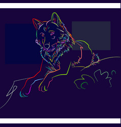Dog 1 vector