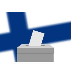 election banner background vector image