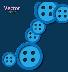 Red pin button pin button set collection vector