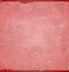 Romance themed grungy retro background vector image