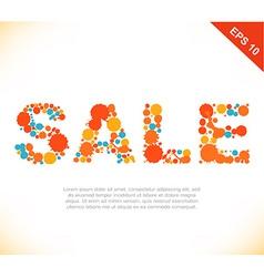 Shopping retail design vector