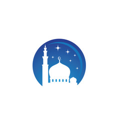 Mosque design vector