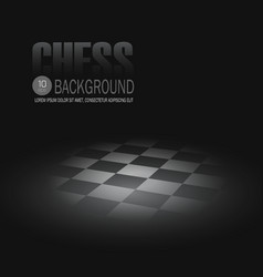 Chessboard background vector image