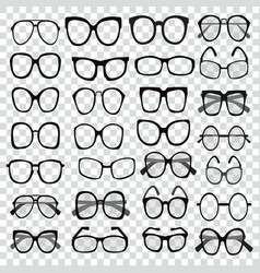 different shapes frame styles set of various vector image vector image