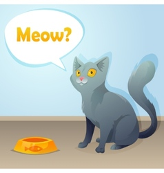 Cat characters vector image vector image