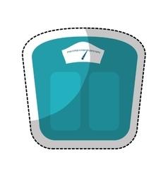 Measure scale icon vector