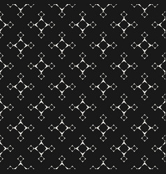 minimalist seamless pattern with linear star vector image