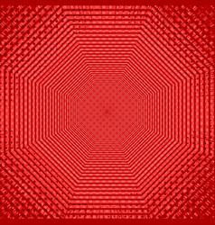 red abstract comic background vector image