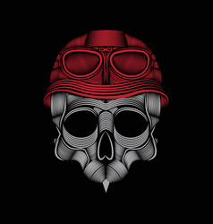 Royal skull logo design templates vector