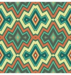 Color Abstract Retro Zigzag Background vector image