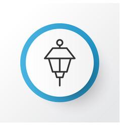 park lamp icon symbol premium quality isolated vector image