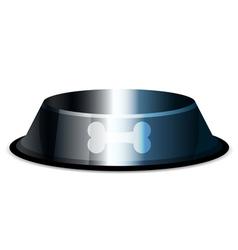 pet bowl vector image