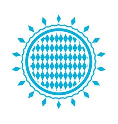 oktoberfest stamp pattern vector image vector image