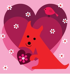 scottie valentine vector image