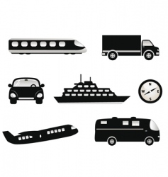 transportation vector image vector image