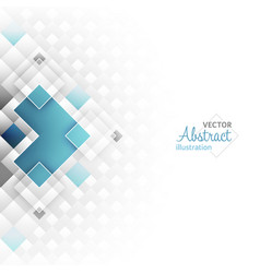 Abstract futuristic background with square shapes vector