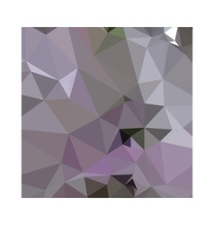 Antique Fuchsia Purple Abstract Low Polygon vector
