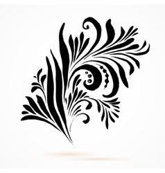 black and white oklahoma vector image