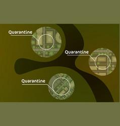 epidemic mers-cov disease spread coronavirus vector image