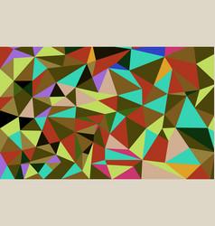 geometric polygon background vector image