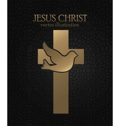 Holy bible book vector image