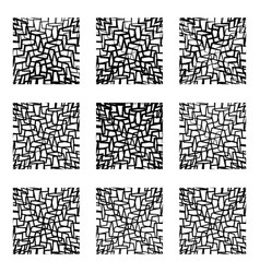 Irregular lines background pattern abstract vector