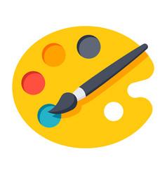 Pallet icon vector