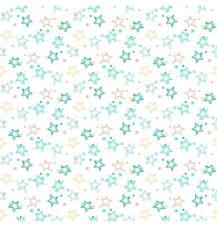 Pattern with stars vector