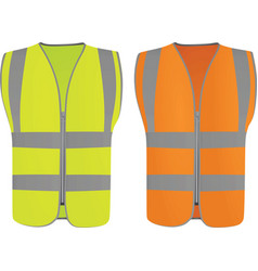 Safety vests vector