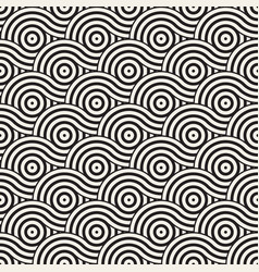 Seamless geometric pattern composed vector