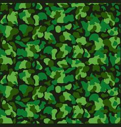 Seamless green camouflage pattern khaki texture vector