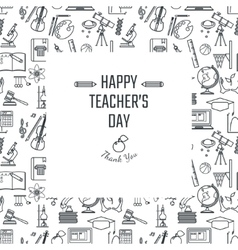 Teachers Day Holidays vector