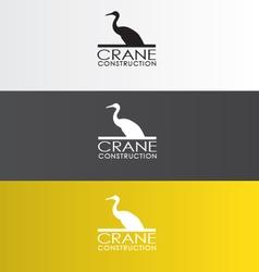 Crane Logo vector image