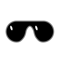 glasses meme art style gangster thug lifestyle vector image