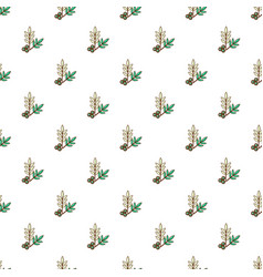 Olives pattern seamless vector