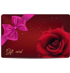 Gift Card vector image