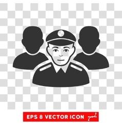 Army Team EPS Icon vector