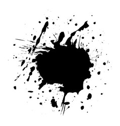 blot black vector image