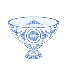 Bowl-of-fruit-faiencet vector
