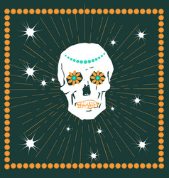 day of the dead concept vector image