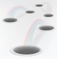 Holes vector