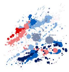 Ink stains grunge background vector