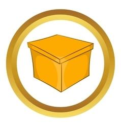 Square box icon vector
