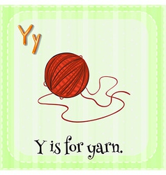 A letter Y vector