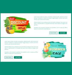 Best discount 30 percent off promo web posters vector