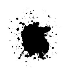 blot black4 vector image